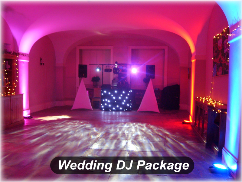 Wedding DJ Package Ragley Hall Disco