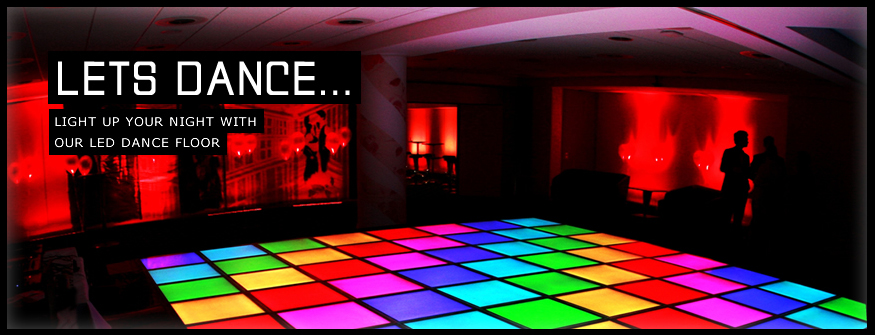 L.E.D. Light Up Dance Floor - DJ's Inc.